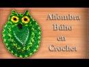 ALFOMBRA BÚHO EN CROCHET