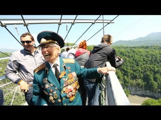 Рекорд: полет на SochiSwing в 85 лет в честь Дня Победы!