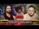 Monday Night Raw 17.07.2017 (Запись стрима на русском)