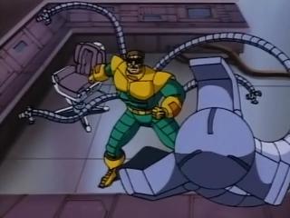 Человек-паук 1994 года ( Сезон 1, Серия 5 ) Доктор Осьминог вооружён и опасен