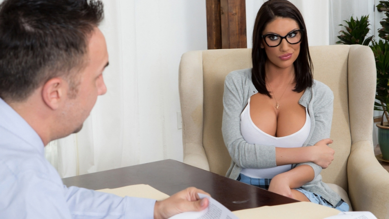 August Ames ( Getting Off The Waitlist) sex
