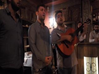 Тбилисские городские песни в ресторане Пурис Сахли