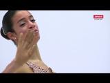 European Championships 2017. Ladies - SP. Valentina MATOS