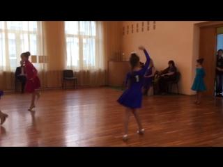 Тоня ..4 место в танцах....