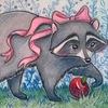 Raccoon art : Енот Воплощенный