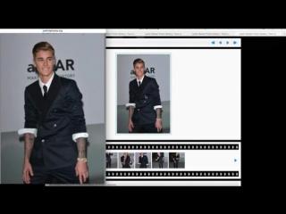 фотошоп Justin Bieber