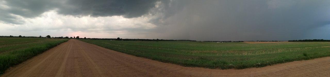 Метеорадар не разглядел катаклизм под Брестом - град, гроза и сильный дождь