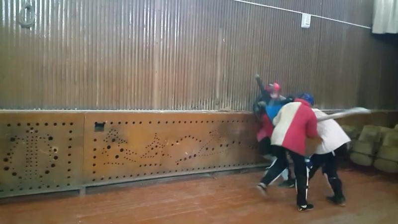 Два на одного(у стенки) Галкин-Чесноков/Галкина