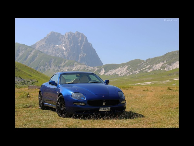 Maserati 4200 GT Coupe - Драйверские опыты Давида Чирони