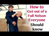 How to get out of a Full Nelson everyone should know Wing Chun