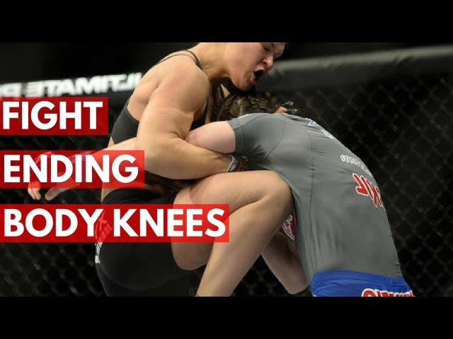 Топ-10 колен в корпус в UFC