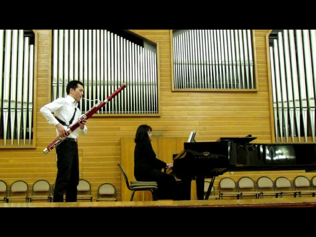Ludwig Milde - Concert No2 for bassoon and piano
