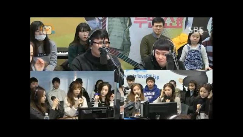 [에이프릴] 170116 -투맨쇼 에이프릴(April) 봄의 나라 이야기 (April story) Live