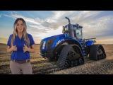 New Holland T9 Tractors SmartTrax II Track System