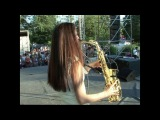 саксофонистка StanSax- Lily was here_remix_(cover Candy Dulfer)