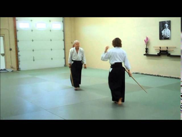 Aikido Bokken Kata 1 through 5