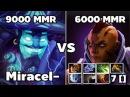 Miracle- Storm Spirit 9000 MMR VS Antime 7 [] 6000 MMR
