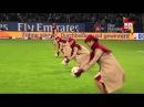 Стюардессы показали, как надо забивать голы на футбольном поле