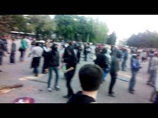 Гражданские беспорядки в Одессе: так начинался разгром лагеря на Куликовом Поле