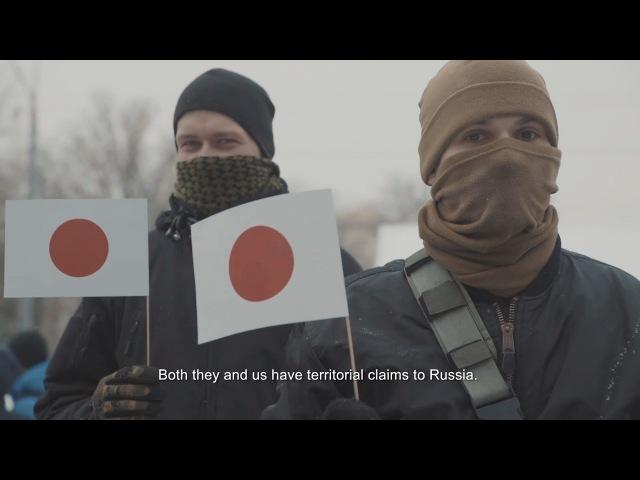 Національний Корпус на акції солідарності з Японією