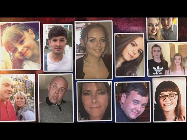 These Are the Victims of the Manchester Terror Attack