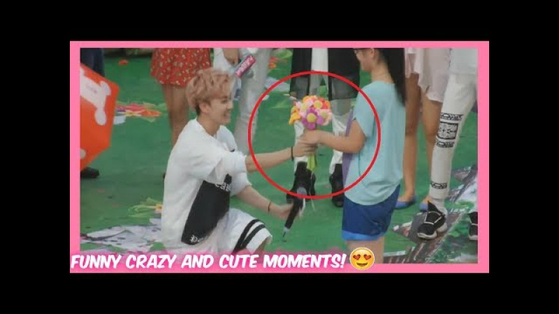 KPOP IDOLS CUTE CRAZY AND FUNNY MOMENTS WITH FANS!