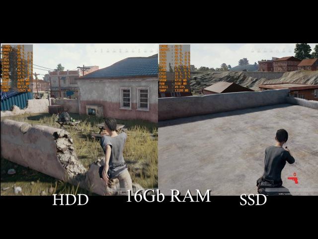 Playerunknown's battlegrounds ОЗУ vs SSD. Сколько оперативы надо? немного ROTR