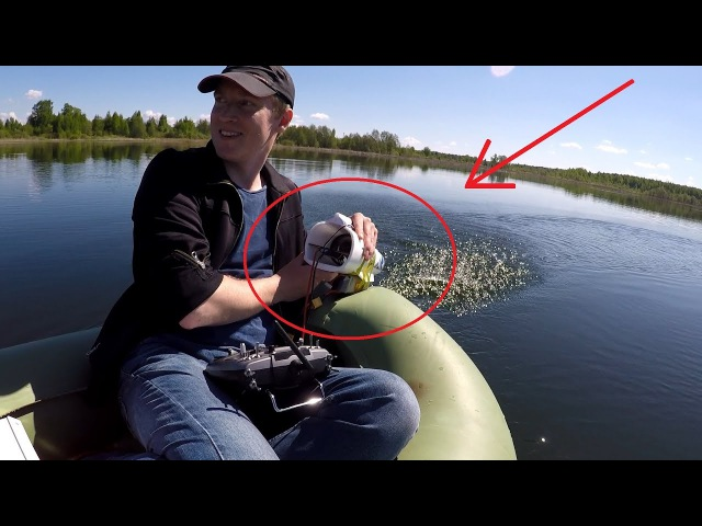 Потянет ли импеллер 70мм 6S Lipo лодку 1/1 с двумя людьми? .The boat will float with a fan 70mm 6S ?
