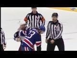 Tanner Glass vs Tyson Strachan Jan 11, 2017