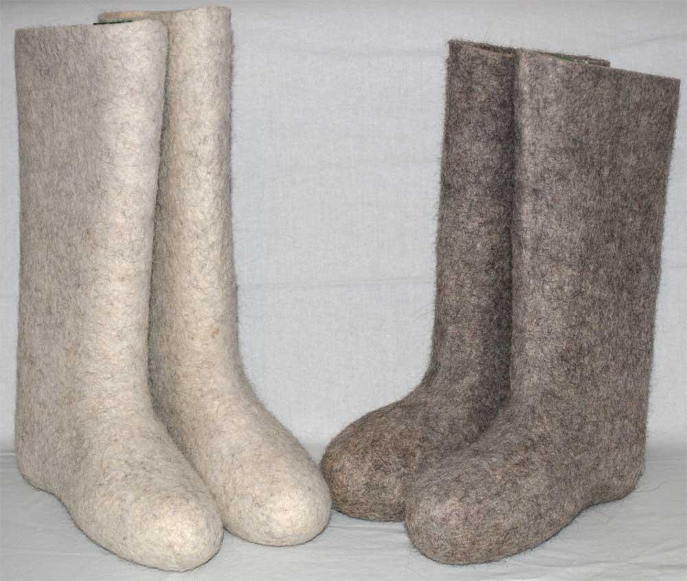 Валенки из натуральной шерсти в Томске