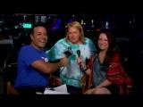 Интервью Холли Мари Комбз для KEYE-TV во время парада в Остине (28 августа 2016)