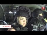 НОВОСИБИРСК#8КУРСЕ Испытания в СПЕЦНАЗе. Ильина – заложница! Noize MC. Нелегальный стрит-арт