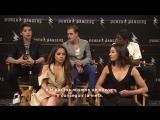 Entrevista con el elenco de Power Rangers