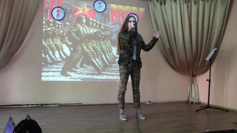 Кристина Подарова Служить России