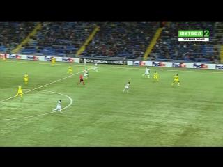 Лига Европы 2016-17 / Группа B / 2 тур / Acmaнa (Казахстан) - Янг Бoйз (Швейцария) / 1 тайм