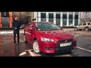 Яркий и чёткий Lancer X за 400 тысяч рублей. 720р