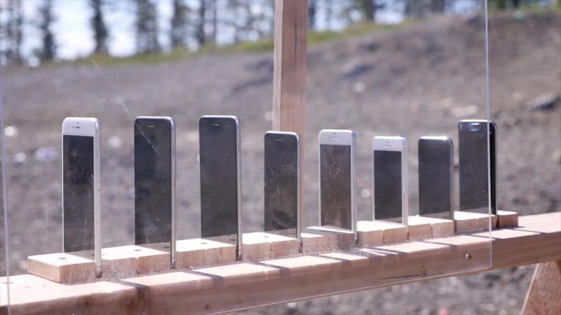 How Many iPhones Does It Take To Stop an AK-74 Bullet