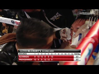 2013-10-19 WBO Light Welterweight Mike Alvarado vs Ruslan Provodnikov (Sky Sport HD)