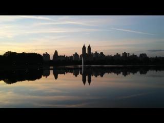 Закат в Центральном парке #CentralPark #NewYork #USA