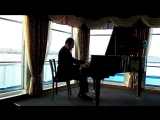 Лунная соната Бетховен - исполняет Заслуженный работник России Н.А. Егошин на теплоходе