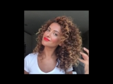 Big Bouncy Curls by Sarah Angius . шикарные кудри