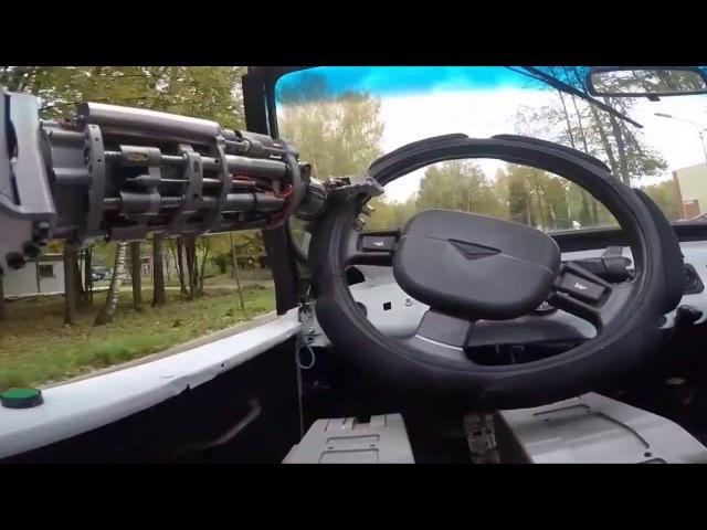 Робот Федор. Робот российского производства. Robot Fedor.