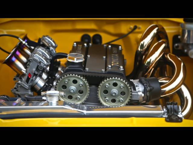 Toyota AE86 Corolla GT-S Twin Cam 16v ITB's