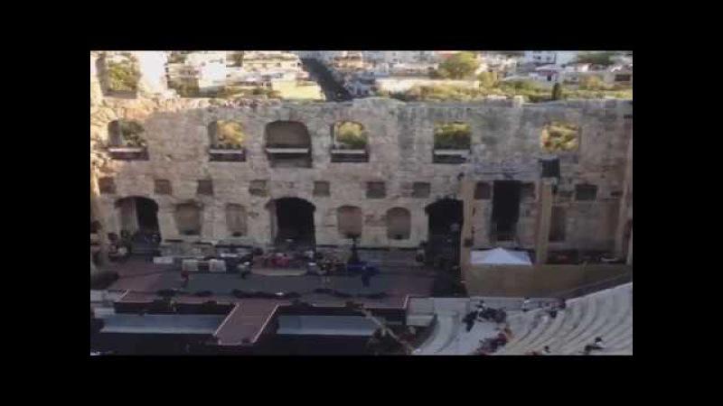 Foo Fighters - Sunday Rain (Soundcheck) Odeio Herodou Attikou, Athens 7/10/2017