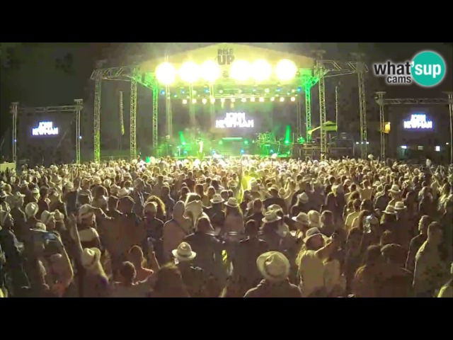 Give Me Your Love | JOHN NEWMAN perform at RISE UP Porec Music Festival 2017