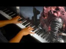 Slave Knight Gael Dark Souls III on Piano