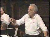 Carlos Kleiber - Probe rehearsal - Unter Donner und Blitz