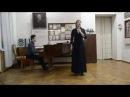 Олена Кривов'яз укр нар пісня Ой мала я у коморі просо обр Ященка