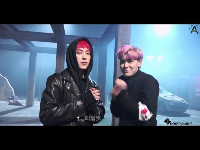 【BAPHKBABY】B.A.P - Wake me up MV Making Film (MV拍攝花絮) 繁中字