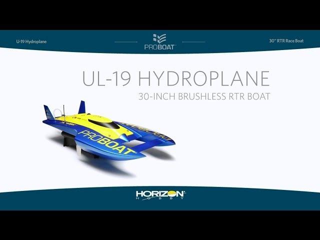 Pro Boat UL-19 30-inch Hydroplane Brushless RTR